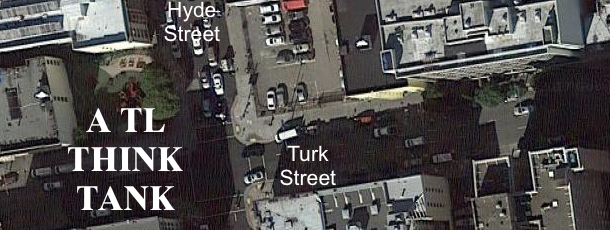 overview of the Turk and Hyde intersection